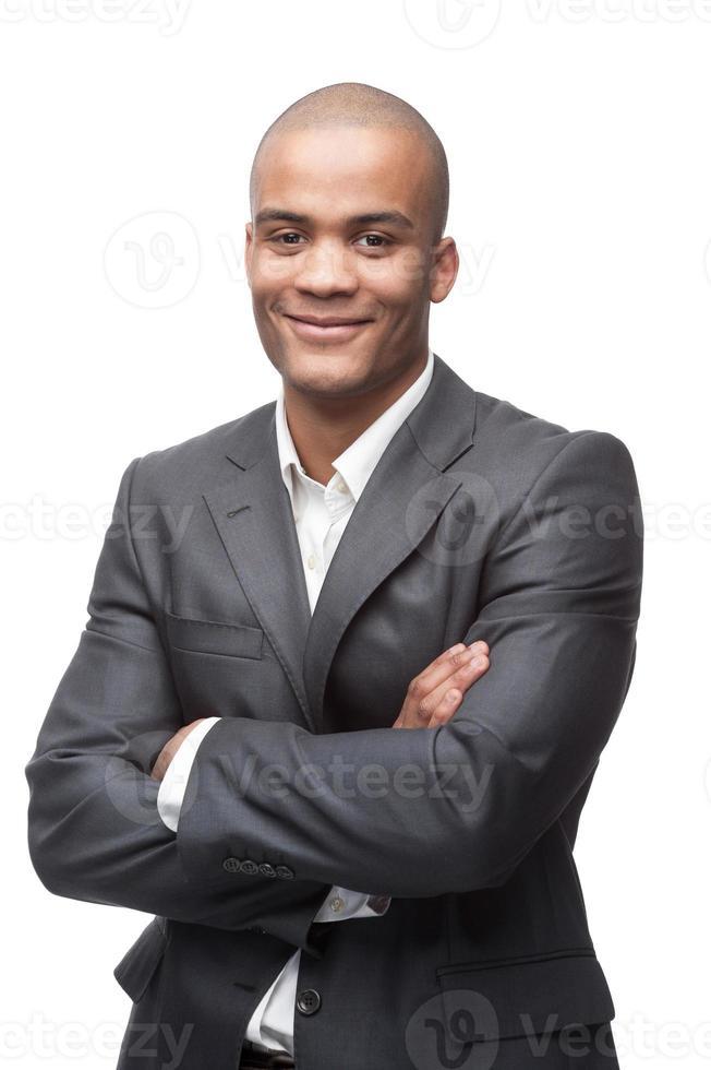 uomo d'affari nero foto