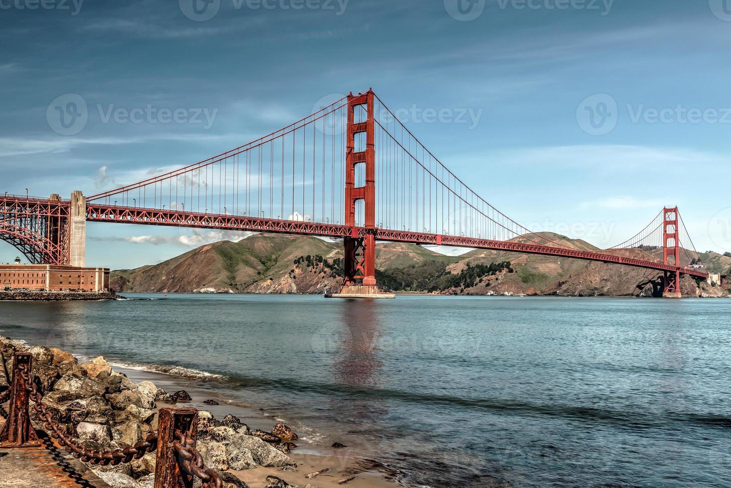 il ponte Golden gate foto