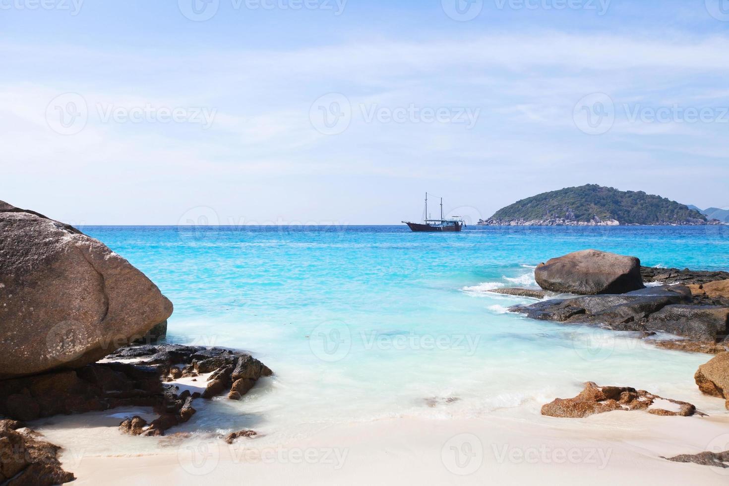 spiaggia paradisiaca foto