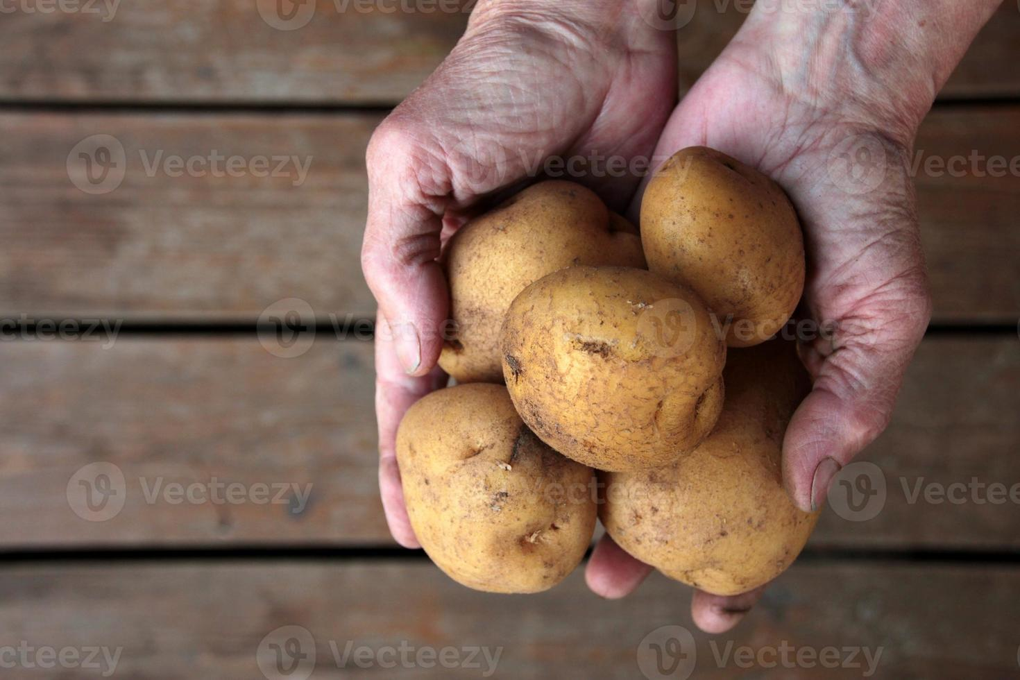manciata di patate foto