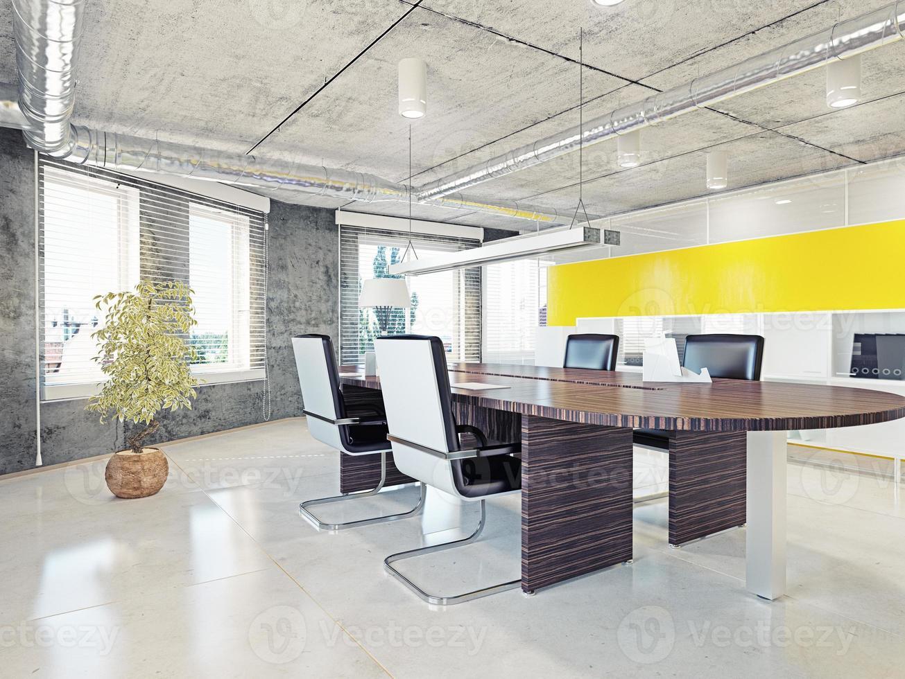 interno di ufficio moderno foto