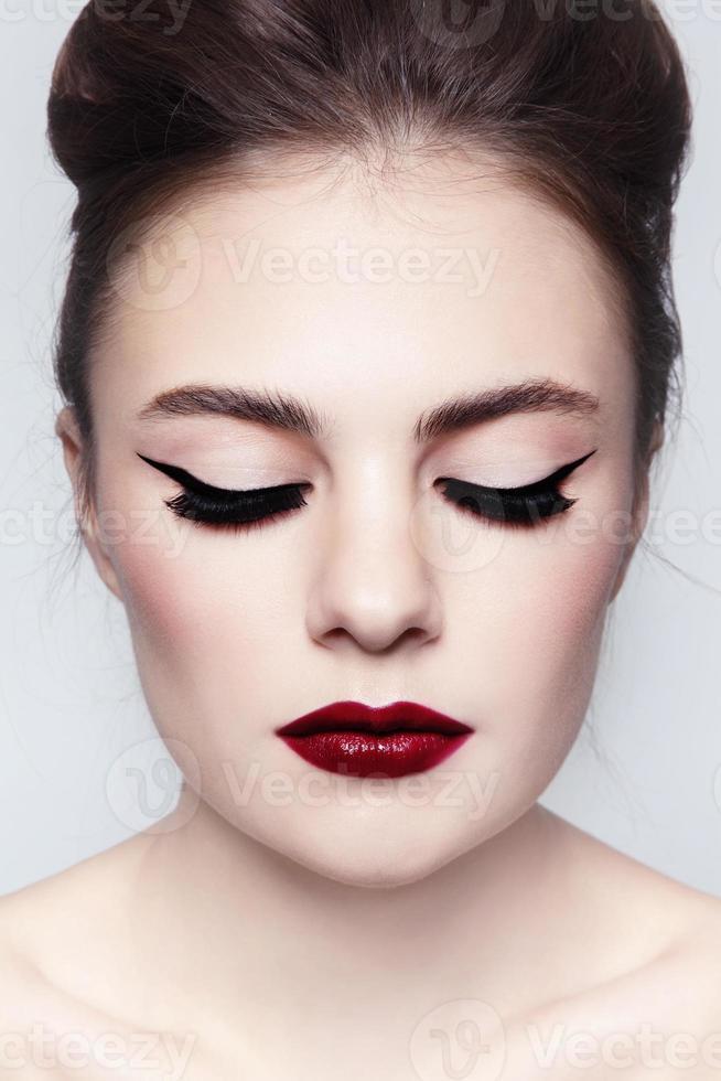 eyeliner foto