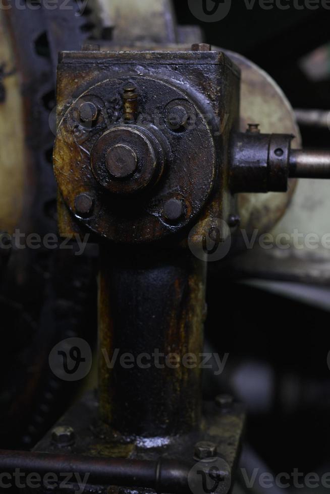 strano pezzo meccanico foto