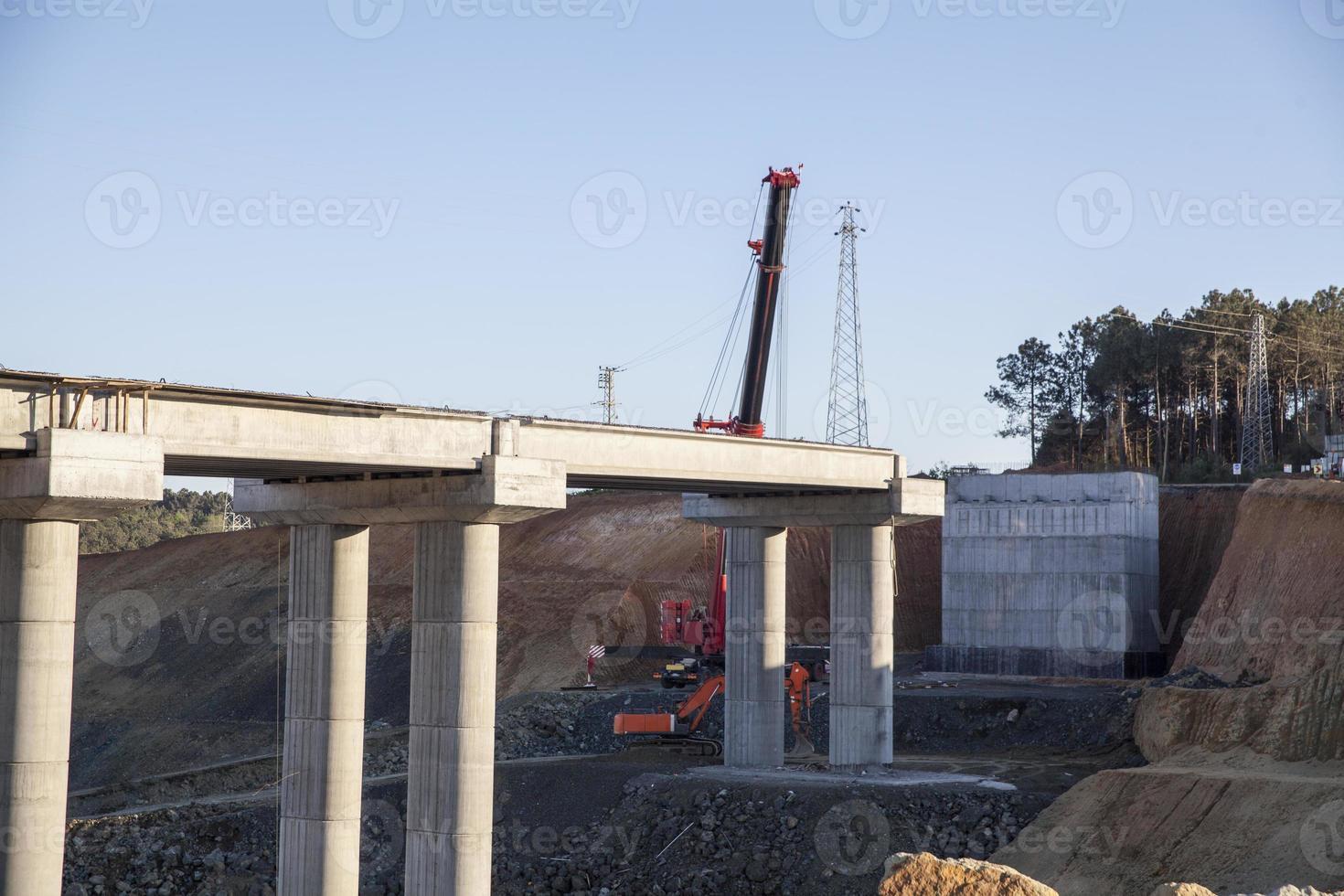 costruzione di ponti foto