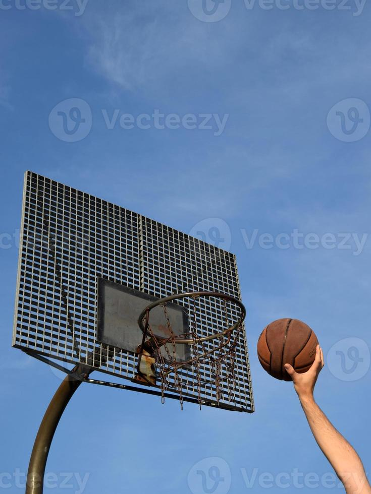 streetball dunk foto