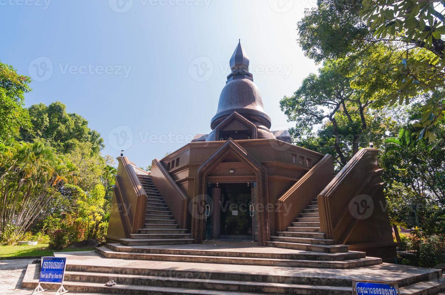 ajahn louis juntasaro museum, sakon nakhon, thailandia foto