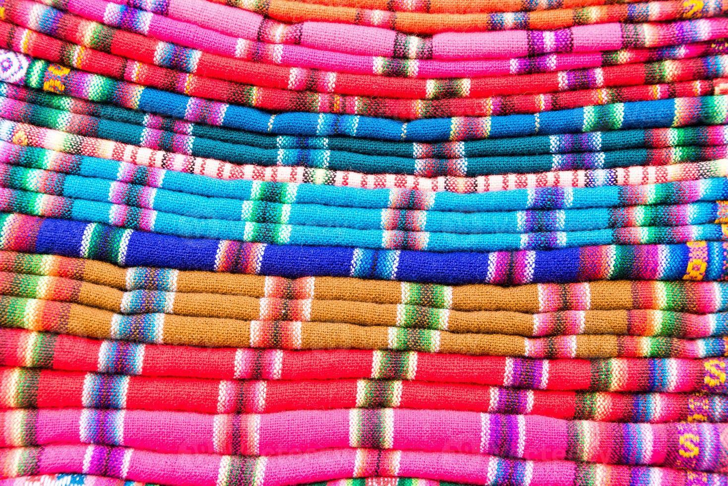 tessuti colorati foto