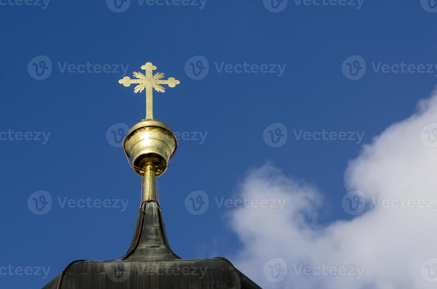 punta della chiesa barocca foto