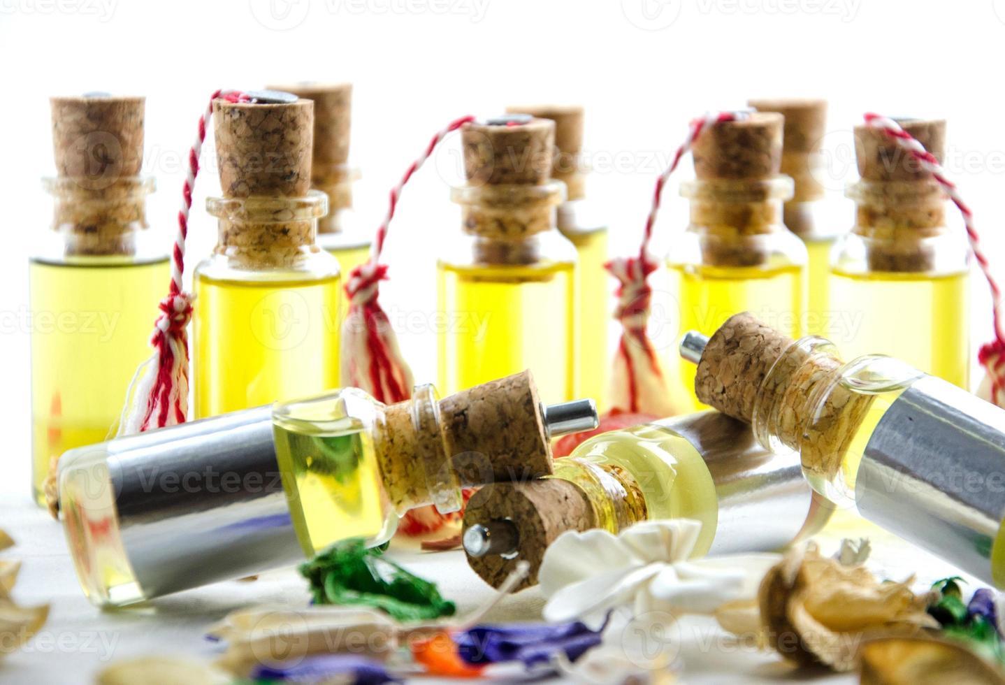 olio per la cura del corpo foto