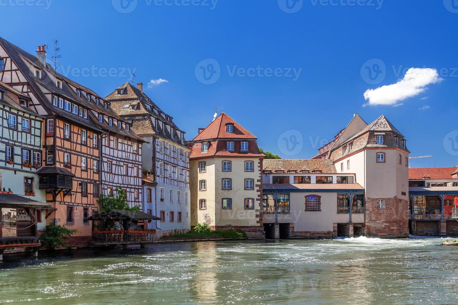 """Strasburgo. distretto """"little france"""" frantsiya.evropa. foto"""