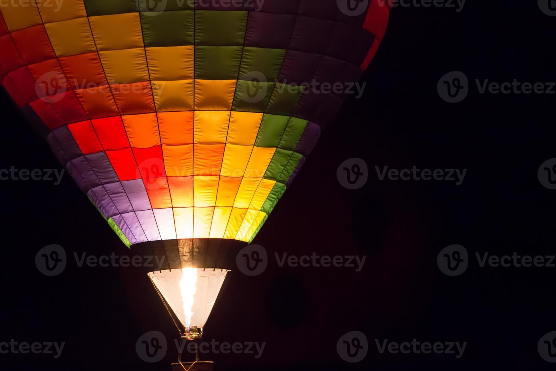 ballonglühen foto