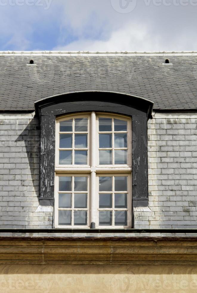 finestra di Parigi foto
