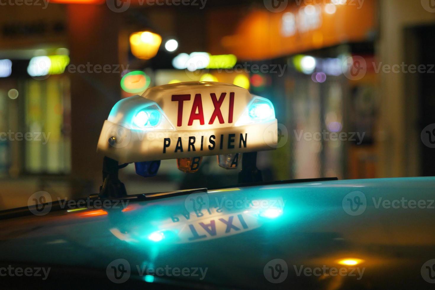 taxi di Parigi foto