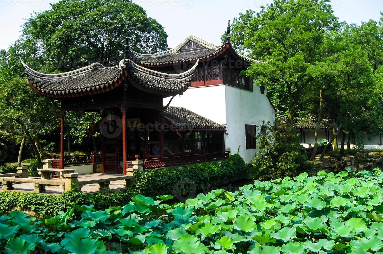 pagoda cinese tradizionale foto