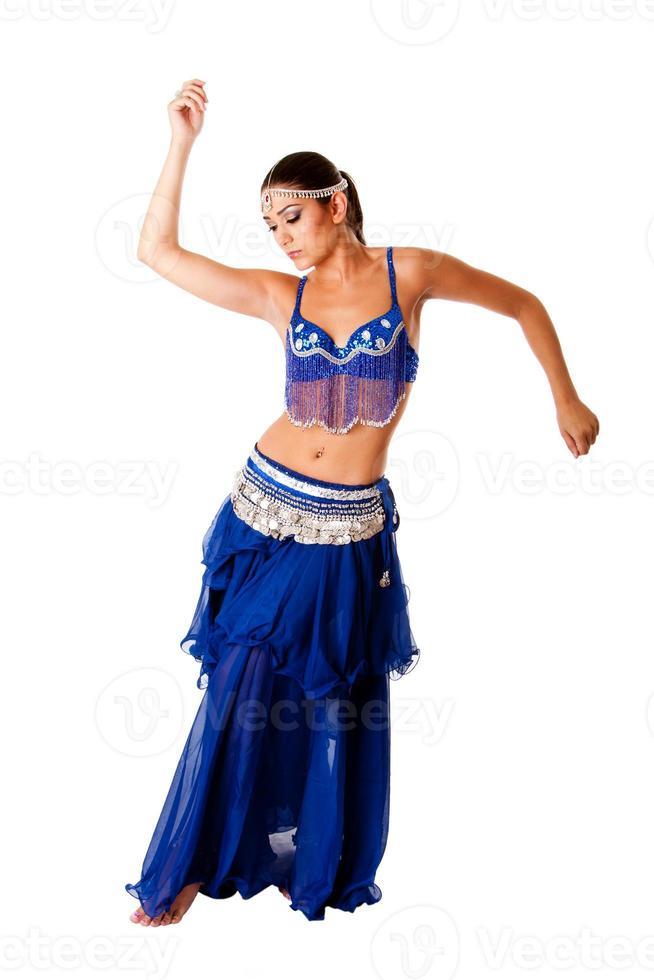 danzatrice del ventre araba foto