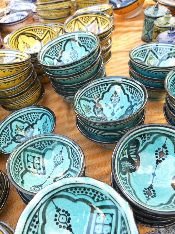 ceramica del maghreb foto