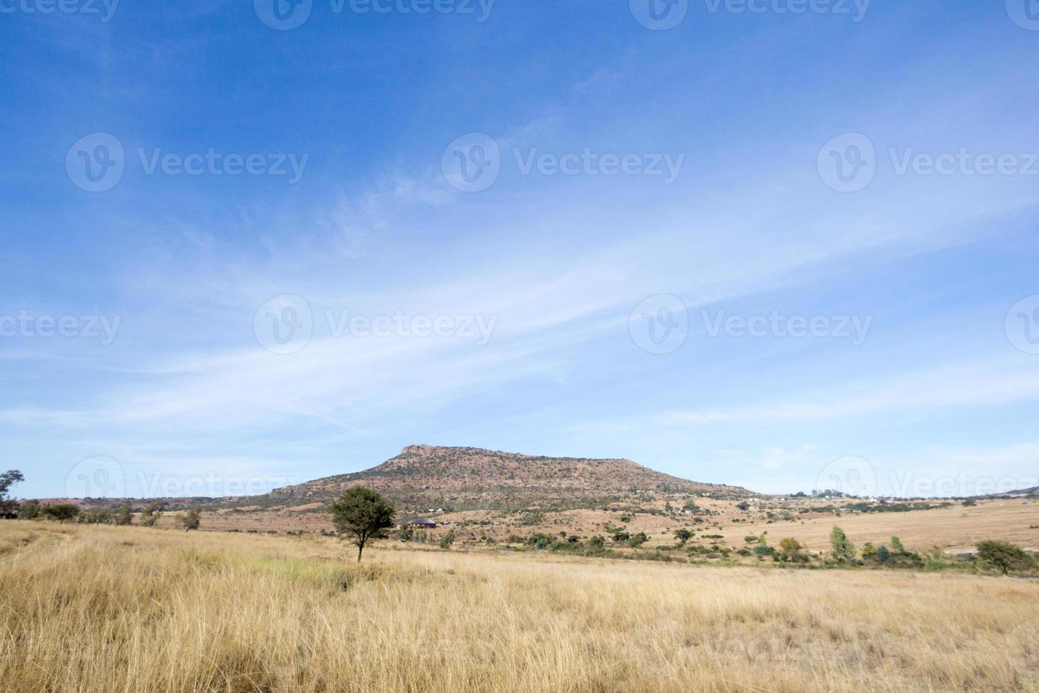 rorke's drift in kwazulu-natal, sudafrica foto
