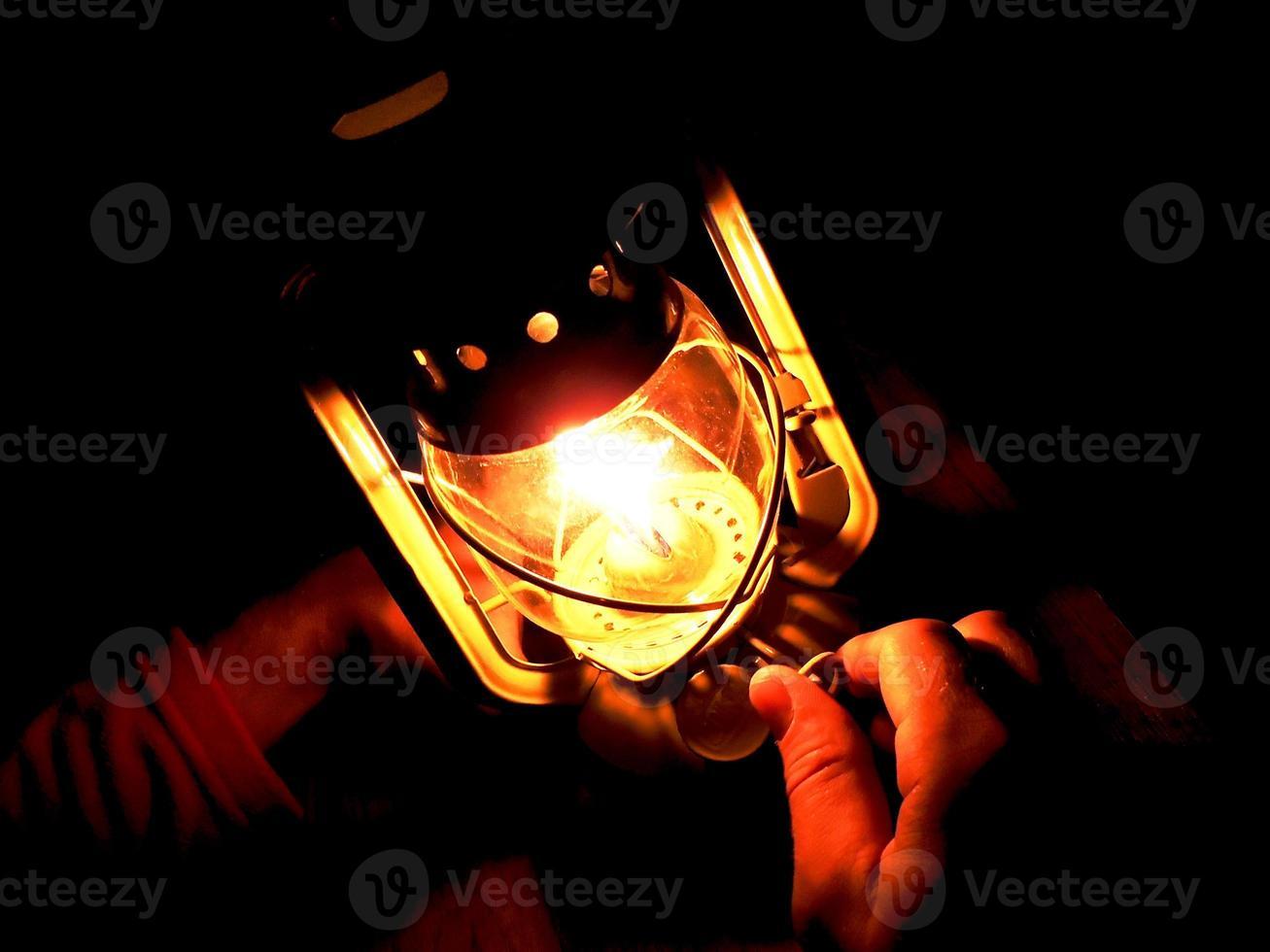 Öllampe foto