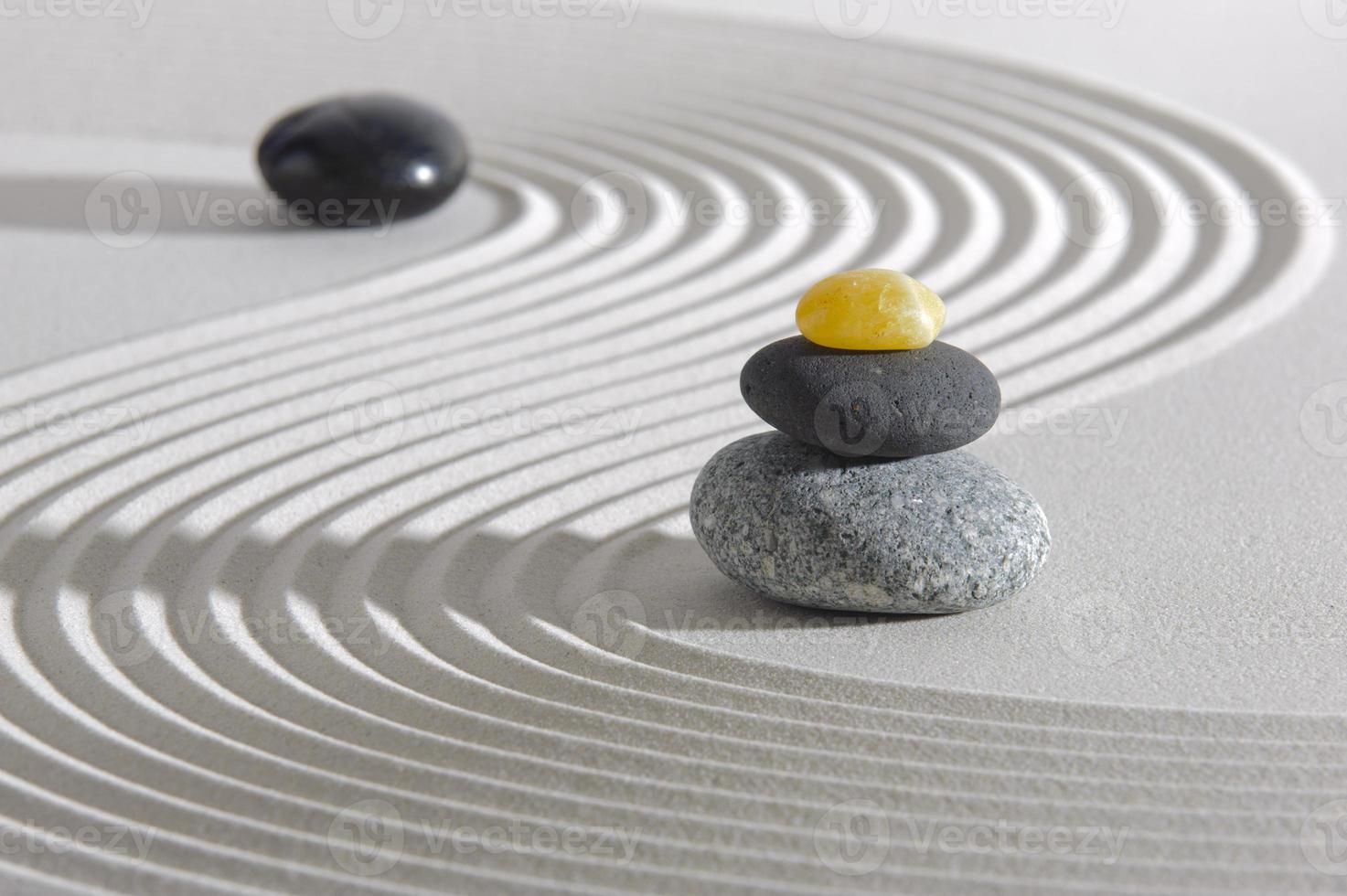 giardino zen giapponese foto