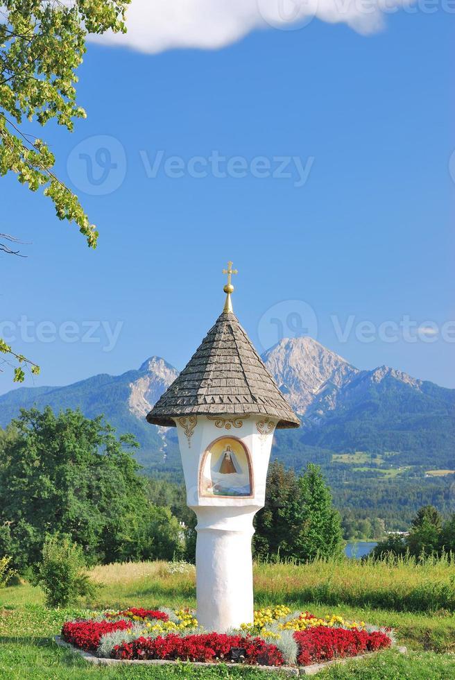 santuario di bordo, faaker vedere, carinzia, austria foto