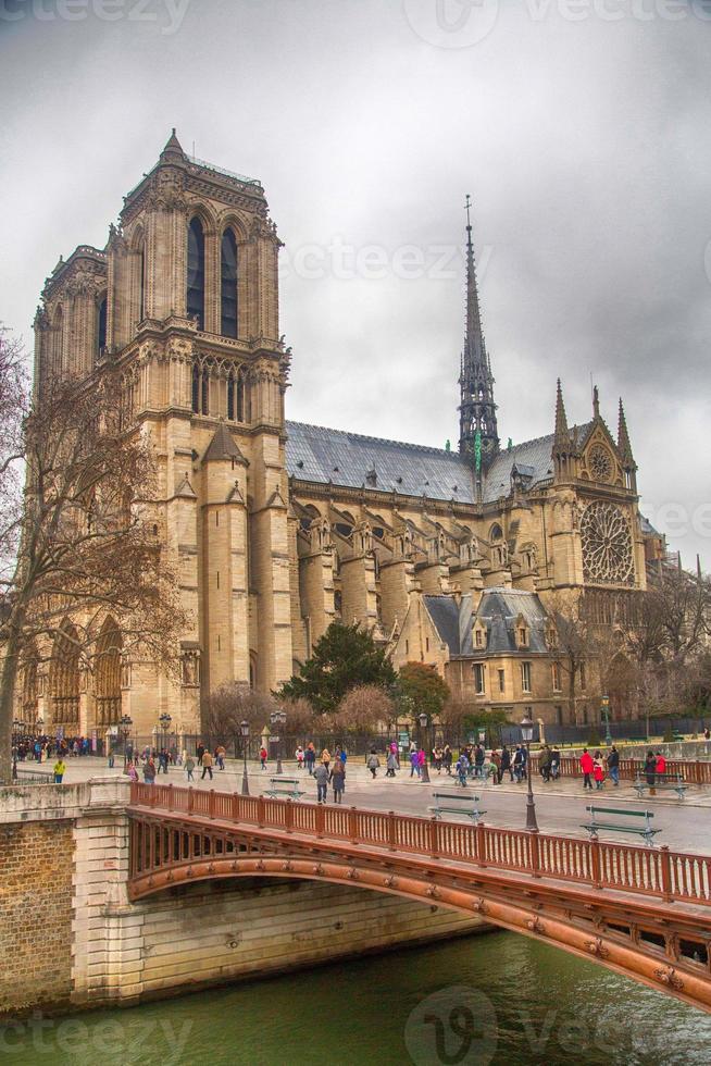 francia - parigi - notre dame foto