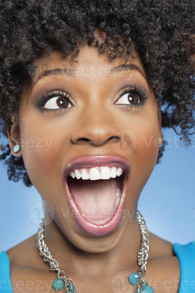 ritratto di una donna afro-americana foto