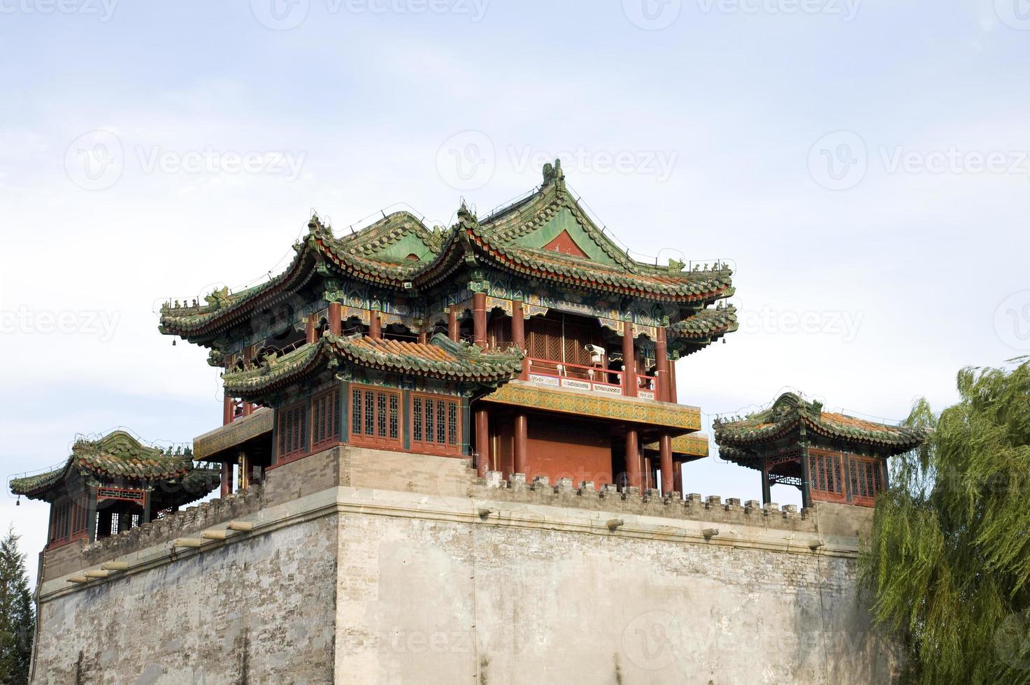 edificio antico asiatico foto