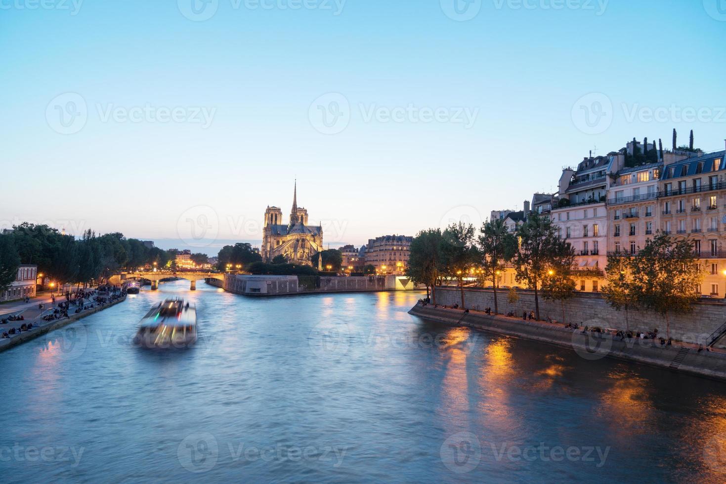 notre dame de paris, francia foto