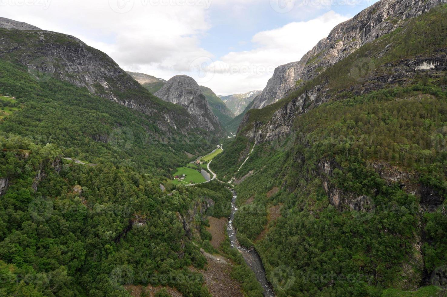 Norvegia. natura norvegese foto