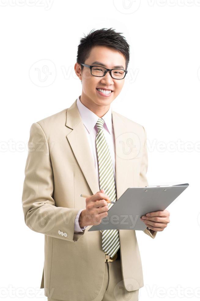 manager asiatico foto