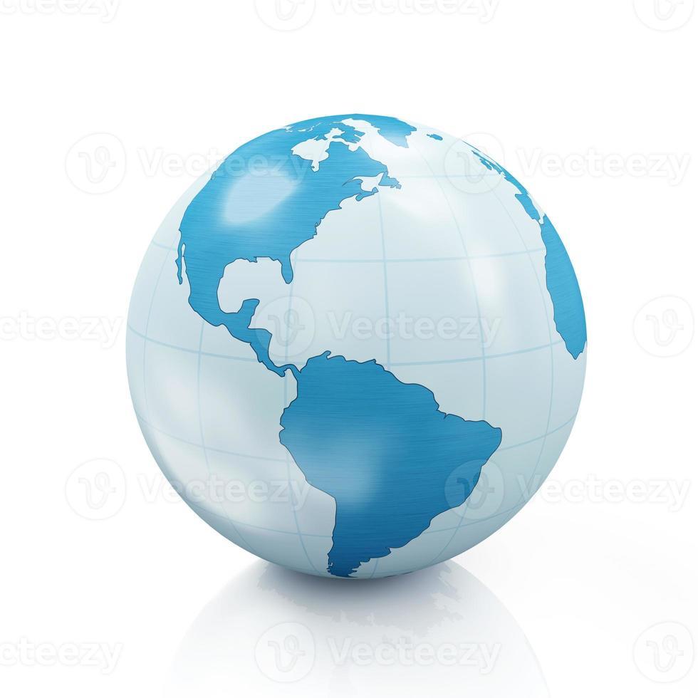 globo terrestre di stile foto