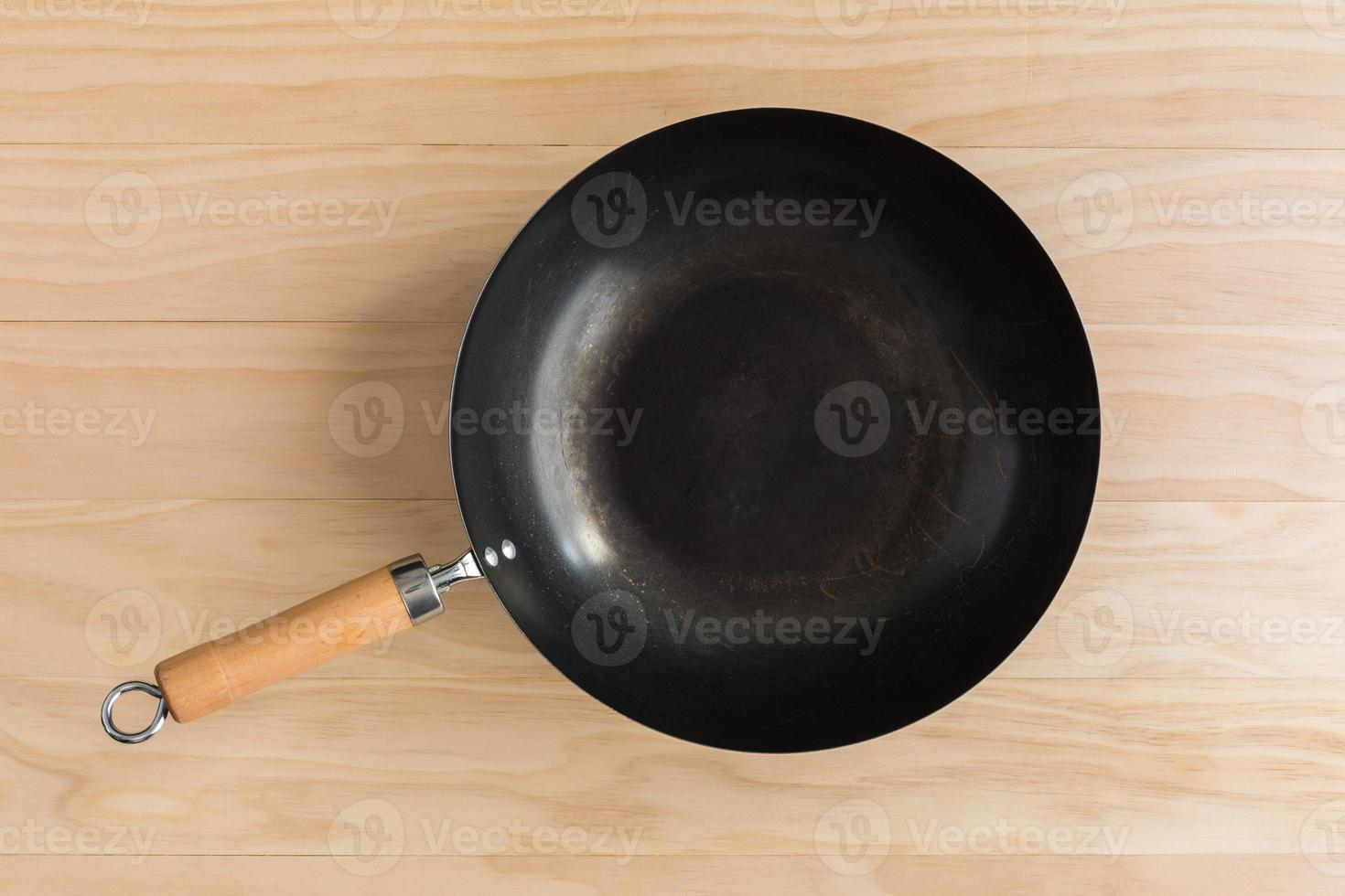 wok in stile asiatico foto