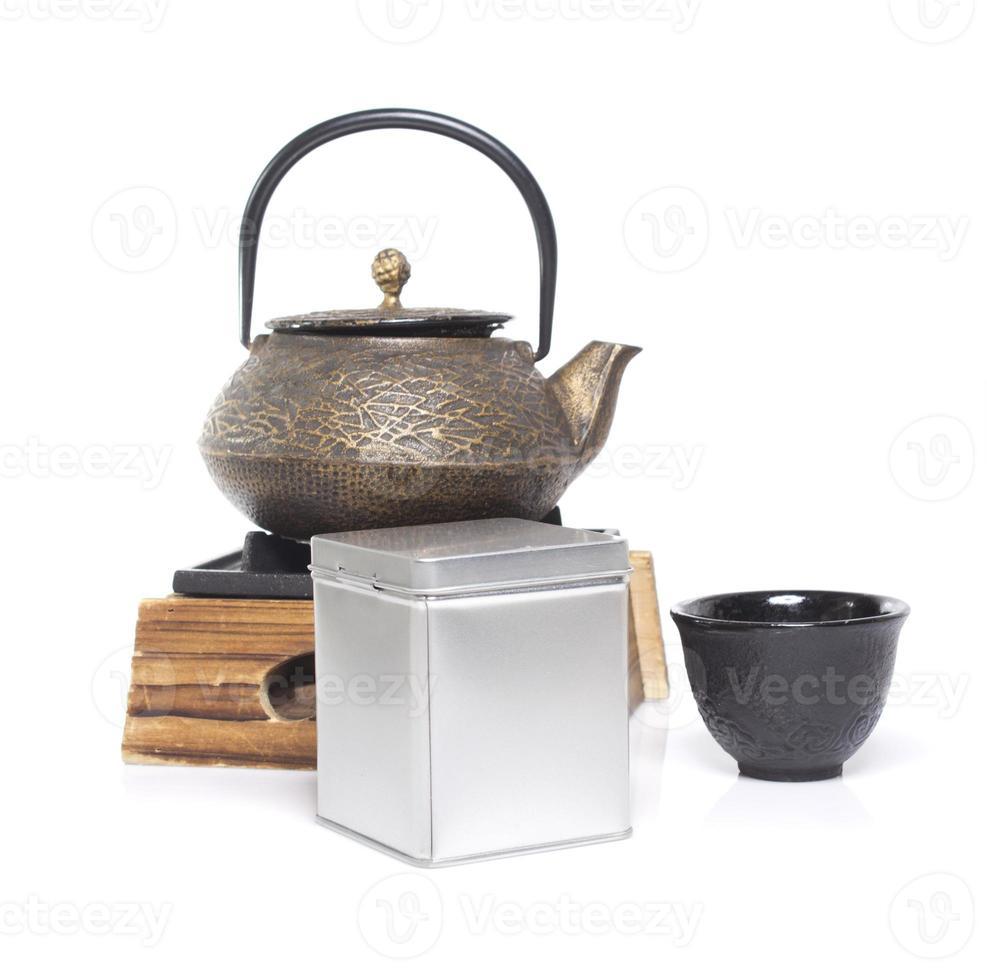 cerimonia del tè asiatico foto