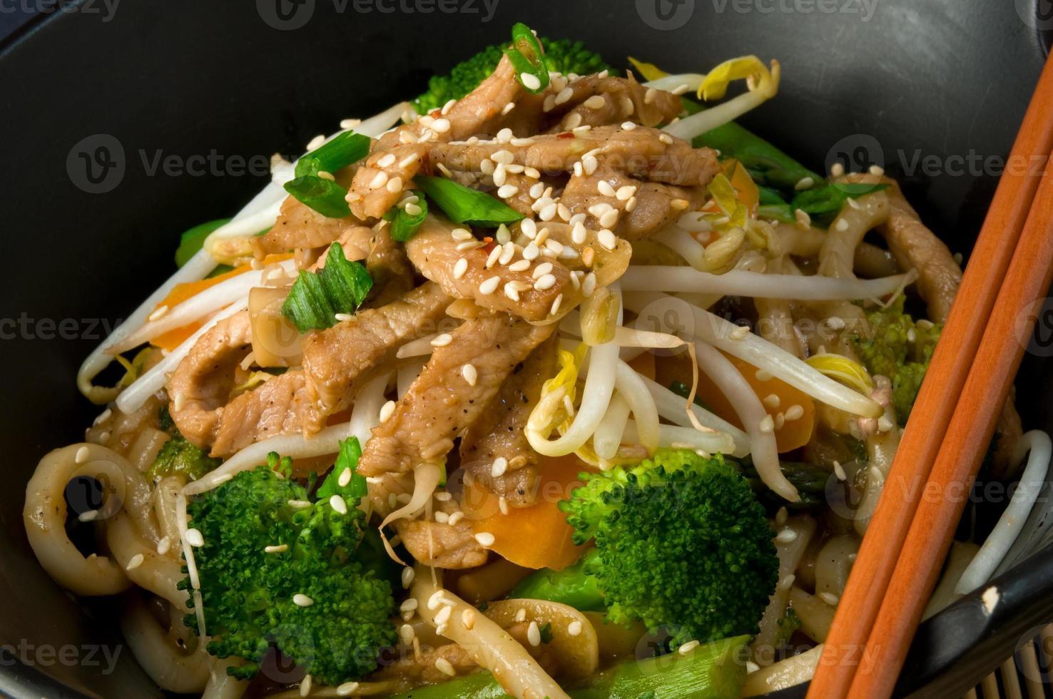 fritto asiatico foto
