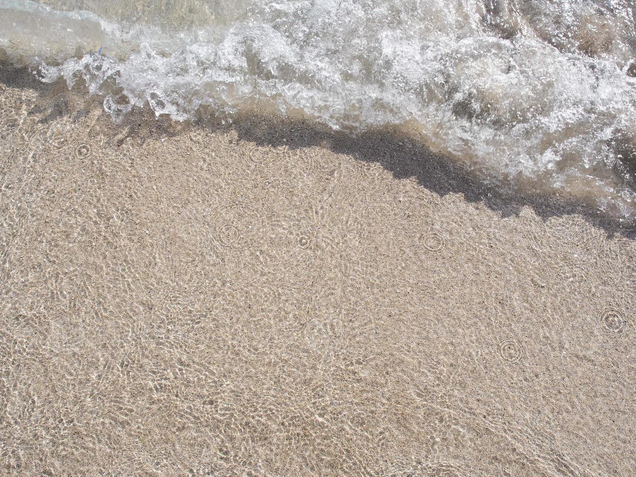 ondata di spiaggia di waikiki foto