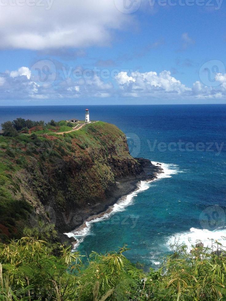 faro di Kilauea Point foto