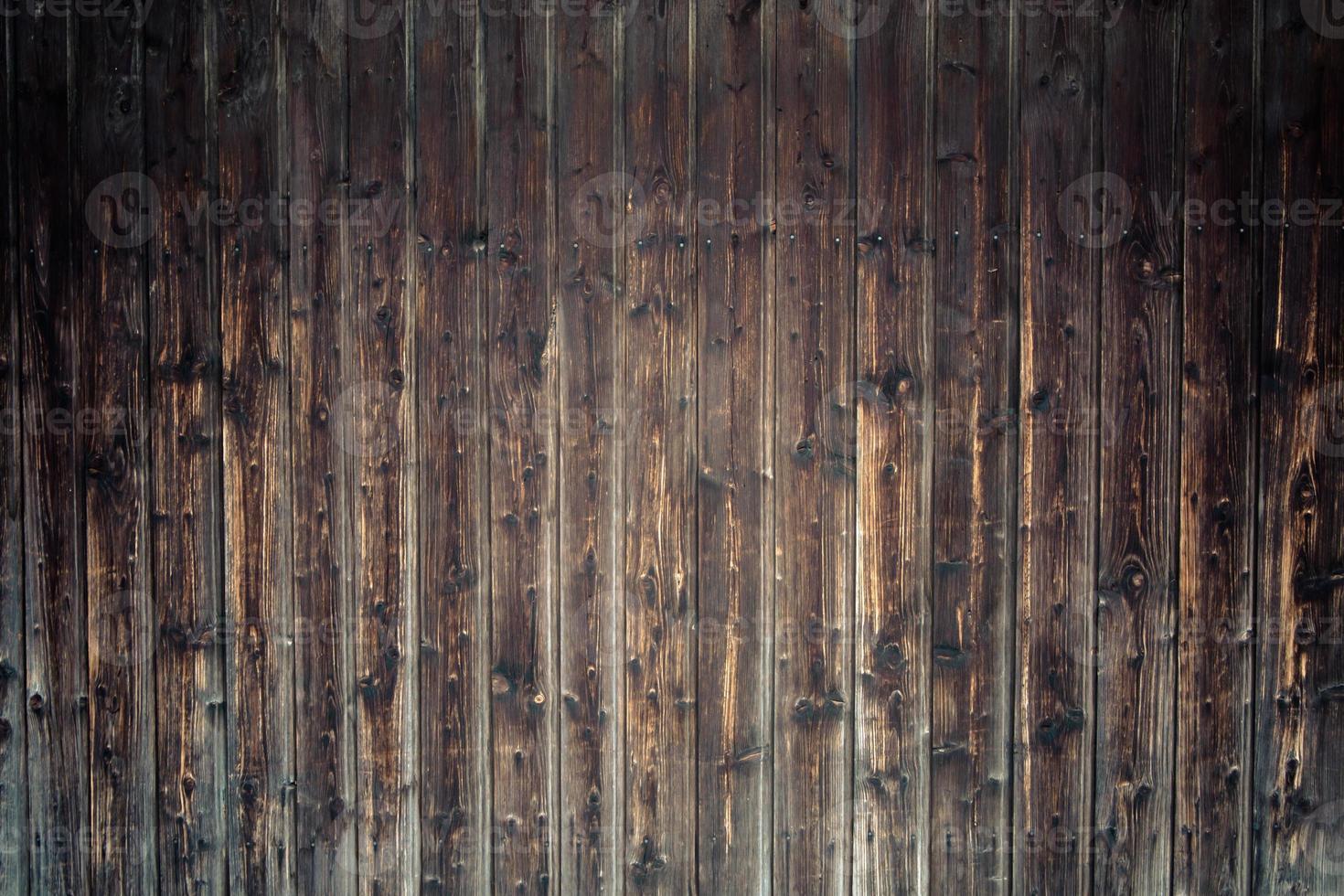 Plancia da scrivania in legno da utilizzare come sfondo o texture foto