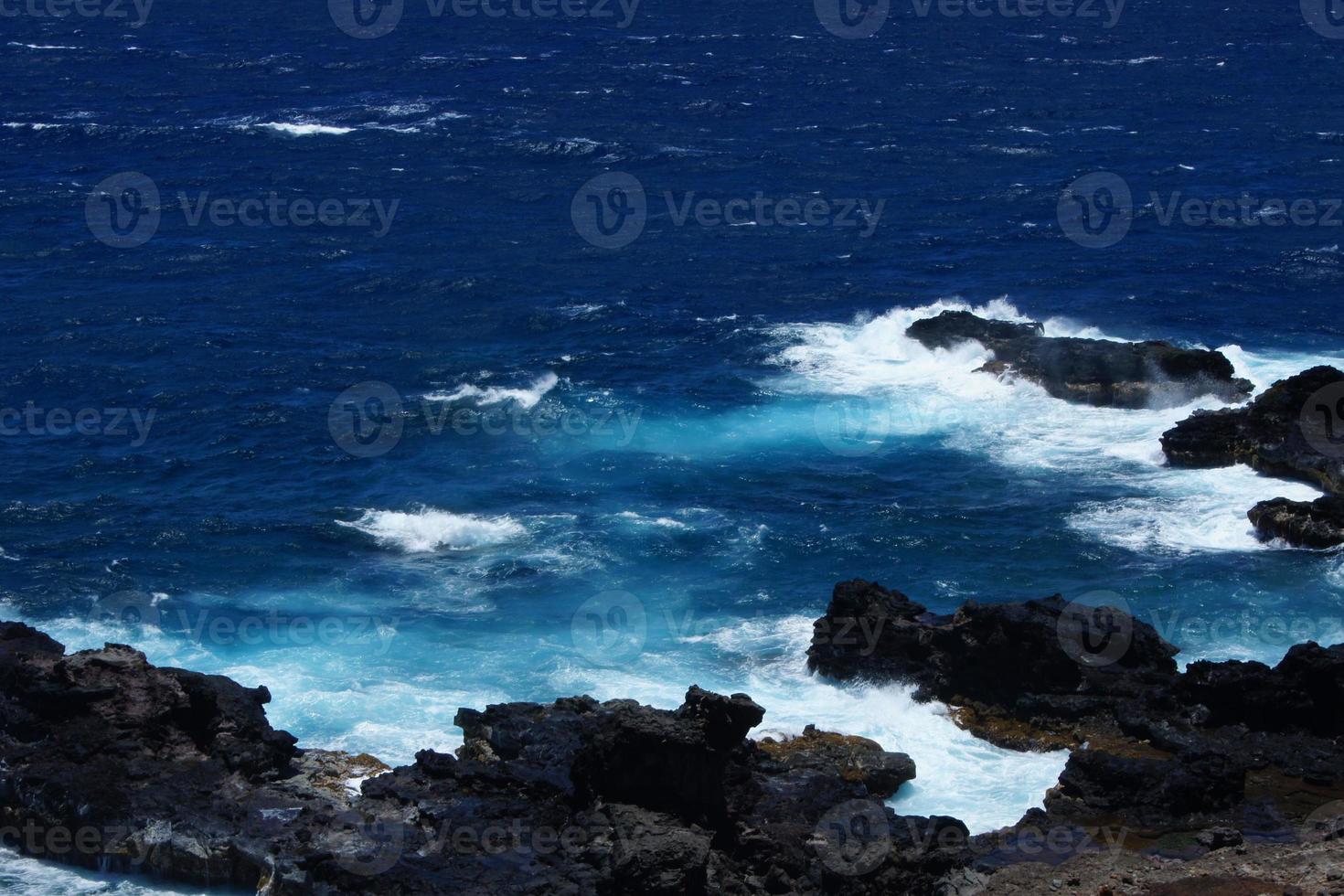 oceano di Maui foto