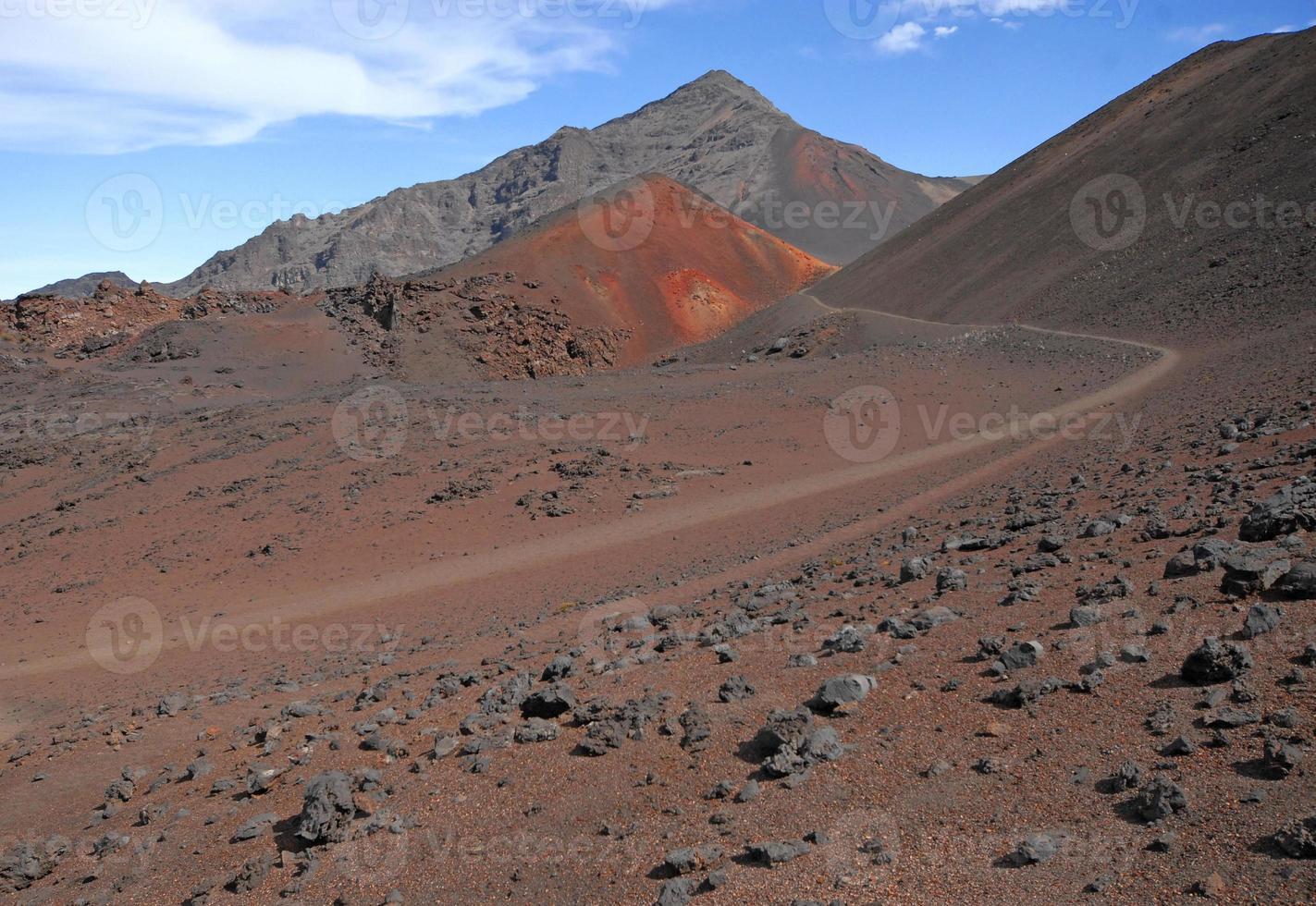 Parco nazionale di Haleakala, Hawaii, Stati Uniti d'America foto