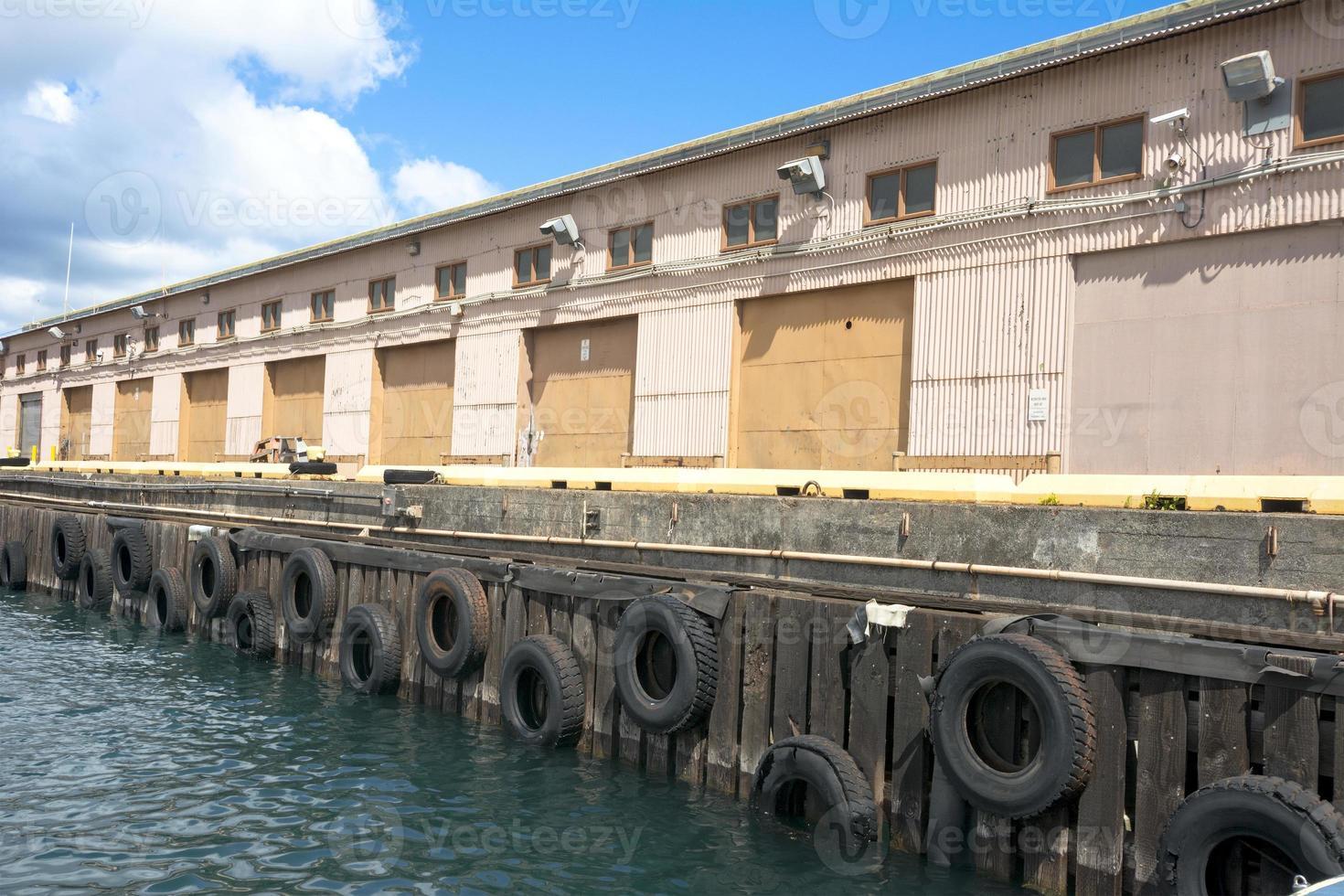 darsena nel porto turistico foto