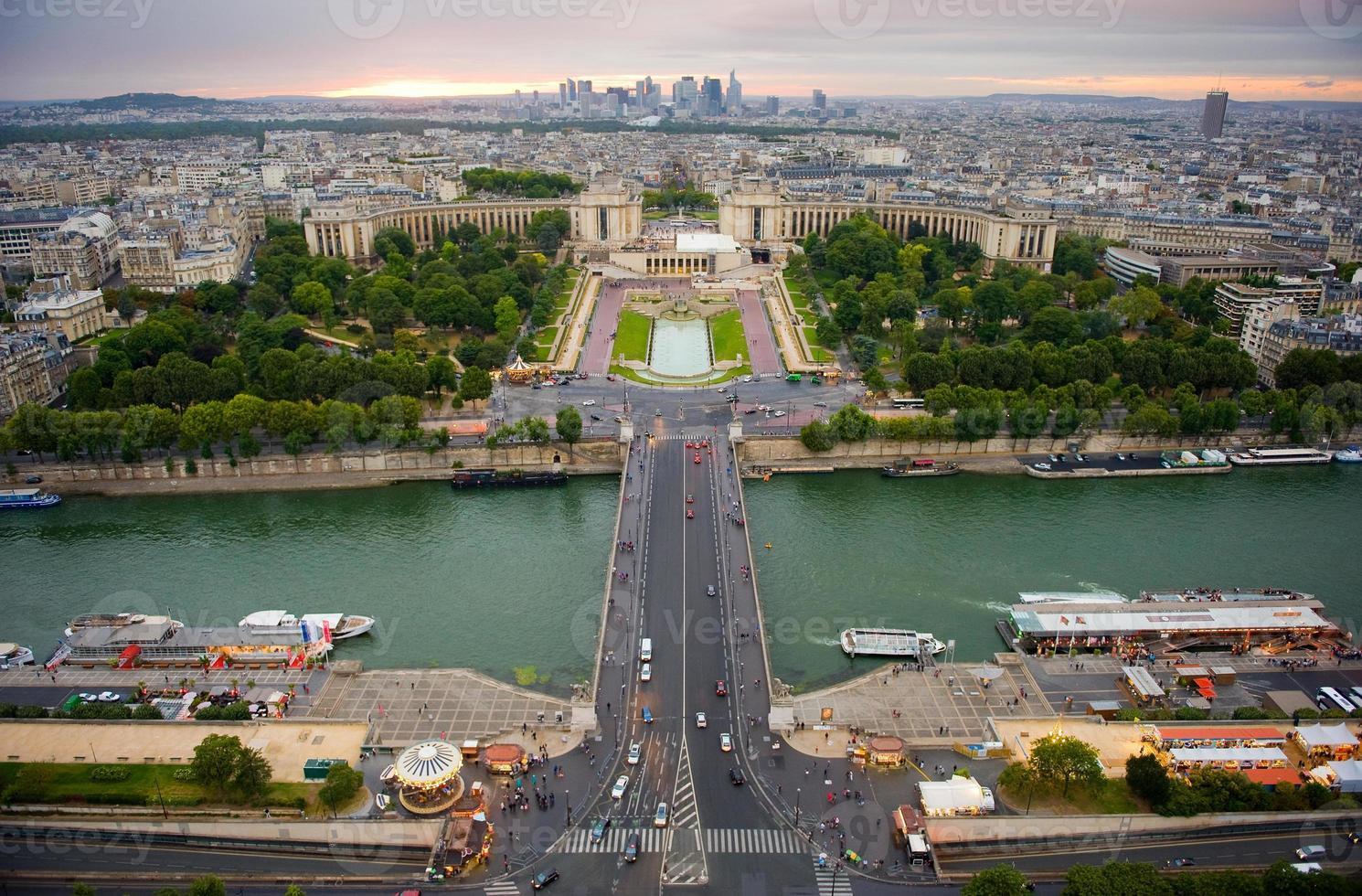 vista su Parigi foto