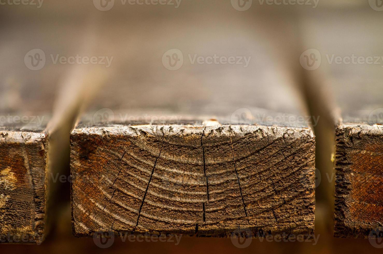 tavola di legno bokeh foto