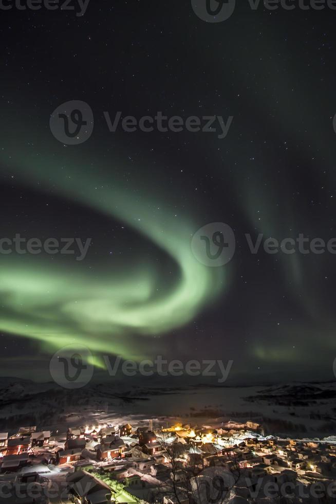 Aurora boreale foto