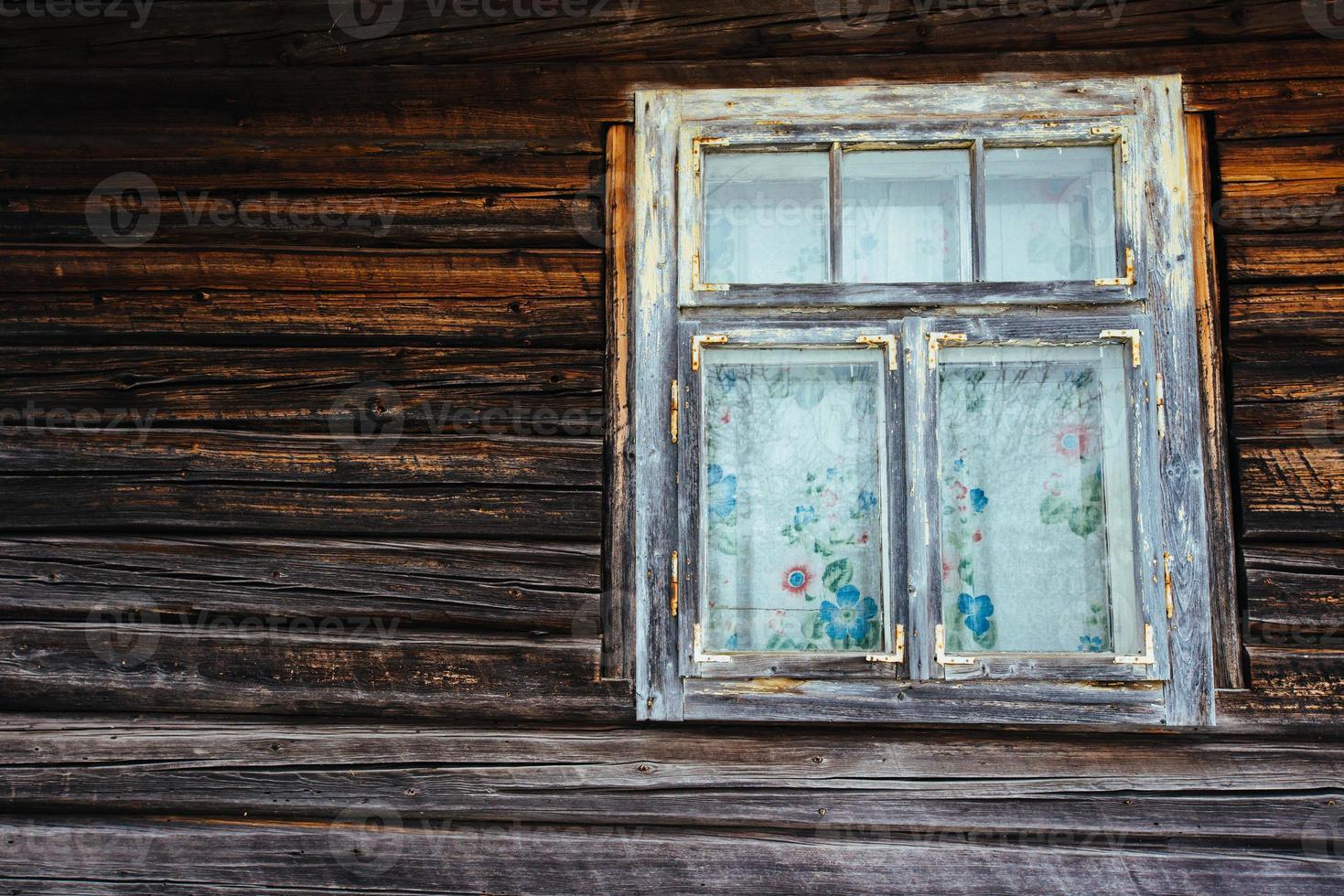 vecchia finestra foto