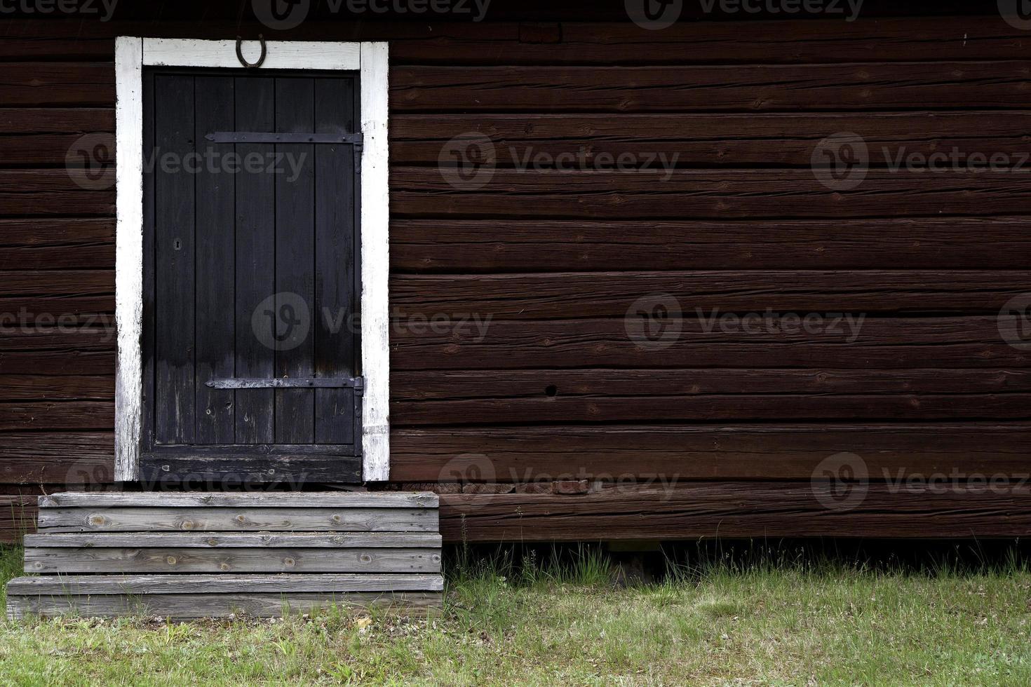 cabina in Svezia foto