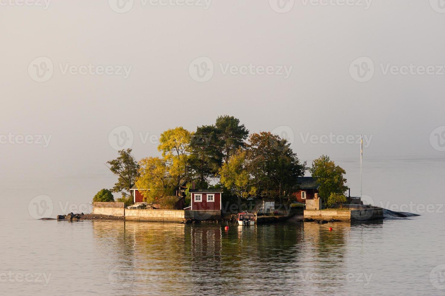 isole svedesi vicino a Stoccolma foto