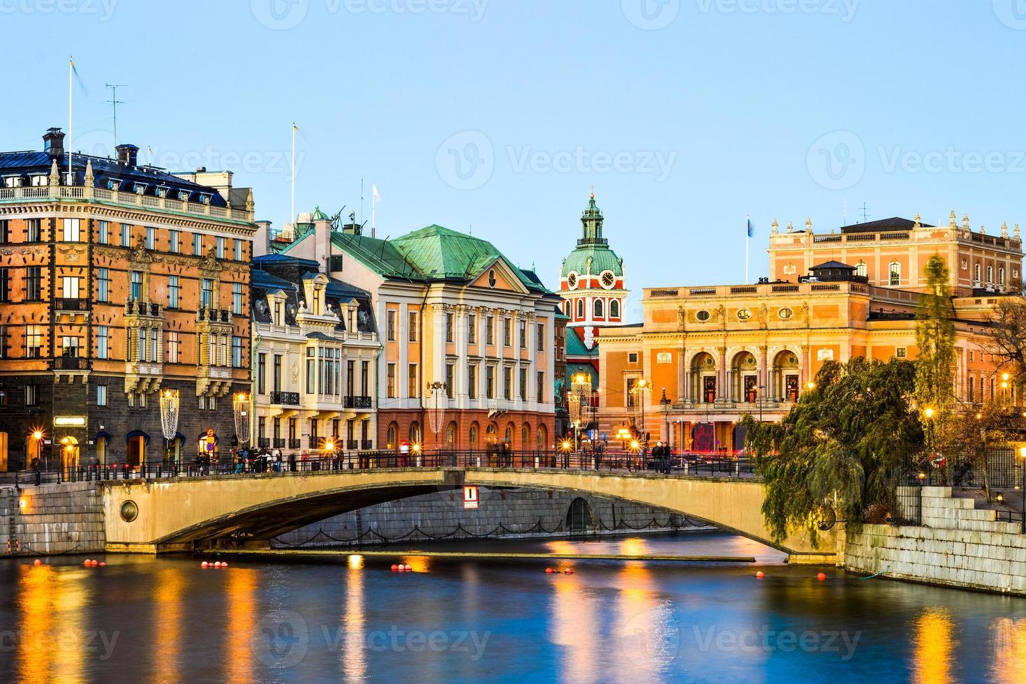 vista di Stoccolma foto