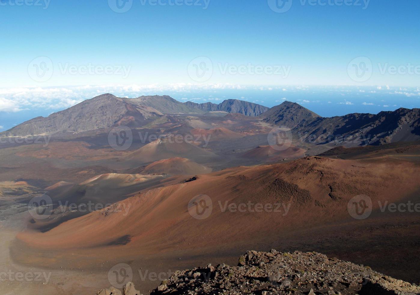 vertice di Haleakala foto