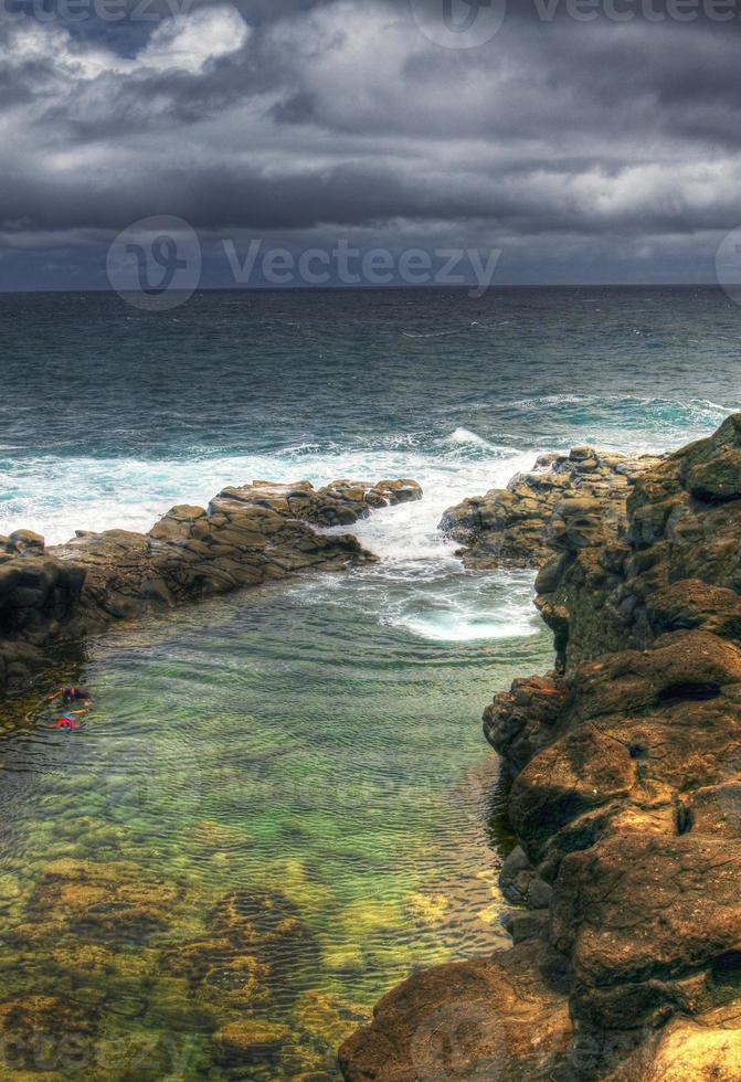 bagno della regina, kauai hawaii foto