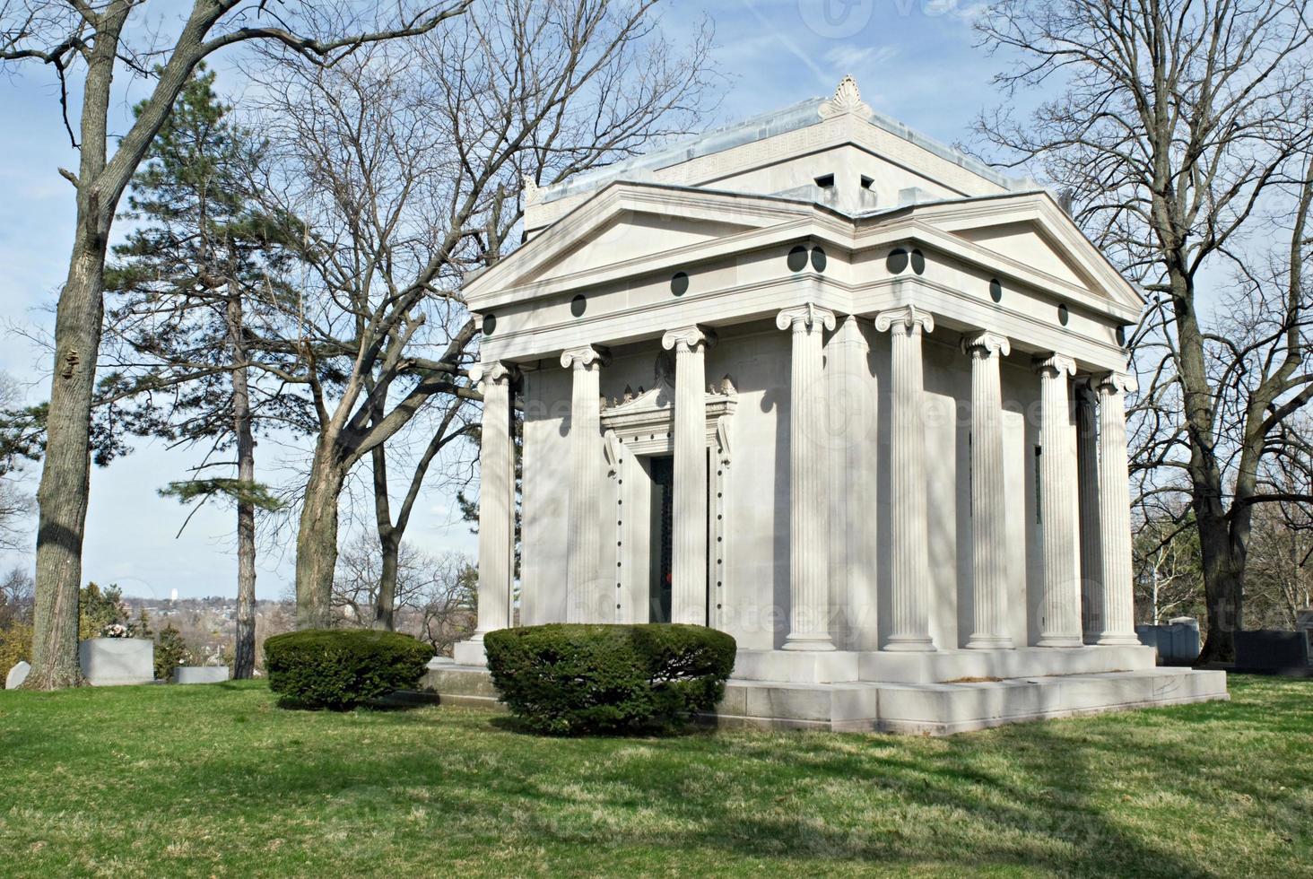 mausoleo di famiglia foto